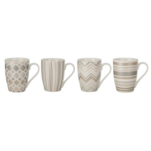 Metallic Medley Mug Set (Set of 4) by BIA Cordon B
