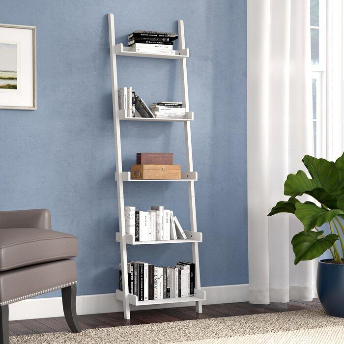 new products 67235 6e25b Saniyah Ladder Bookcase