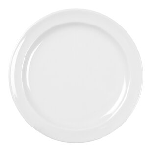 Ada Melamine Round 10.25 Dinner Plate (Set of 12) By Winston Porter