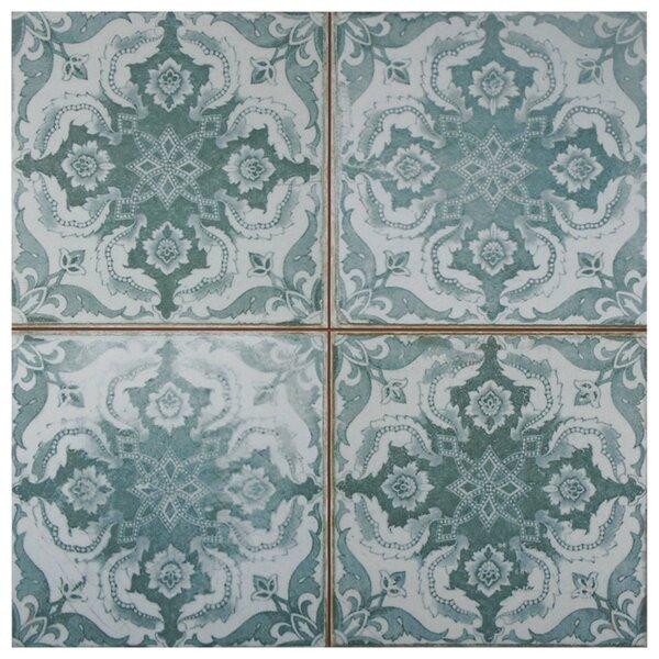 Royalty 17.63 x 17.63 Ceramic Field Tile in Seagate by EliteTile