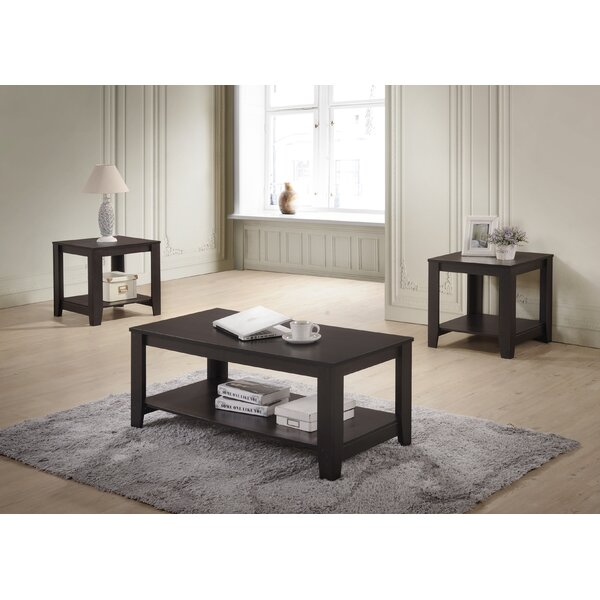 Halbert 3 Piece Coffee Table Set by Winston Porter