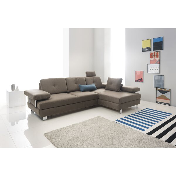 Cally Sleeper Sectional By Ebern Designs