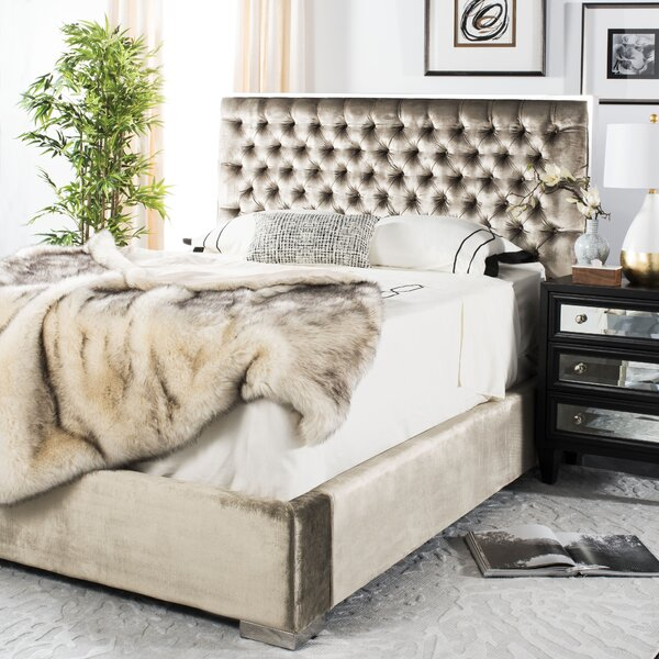 Reynaldo Upholstered Standard Bed by Willa Arlo Interiors