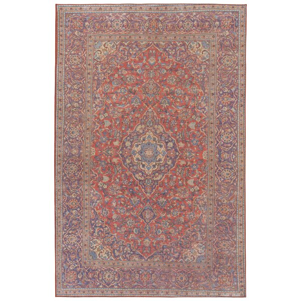 Olinger Coral Indoor/Outdoor Area Rug by Bungalow Rose
