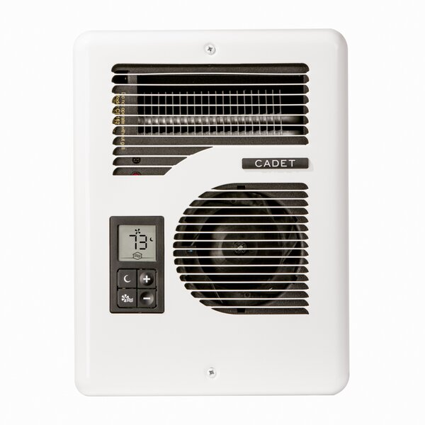 Com-Pak Series Energy Plus Multi-Watt 120/240-Volt Electric Fan Wall Heater by Cadet