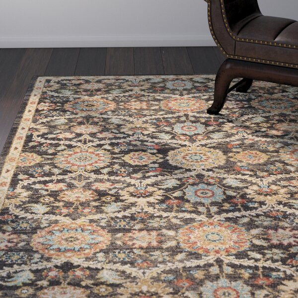 Naranjo Market Brown Area Rug by World Menagerie