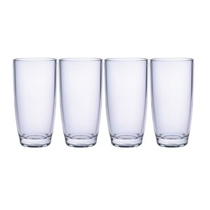 15 oz plaza highball set of 4 - Highball Glasses