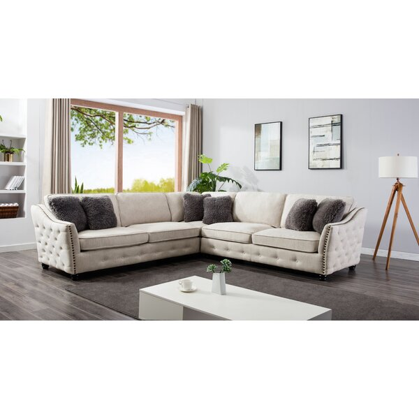 Bodiam Sectional by Canora Grey