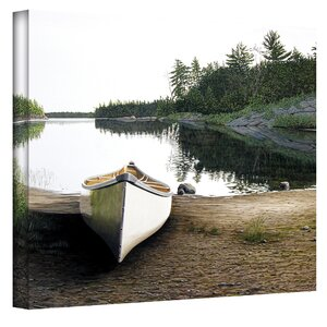Silent Retreat by Ken Kirsch Photographic Print on Wrapped Canvas by Loon Peak