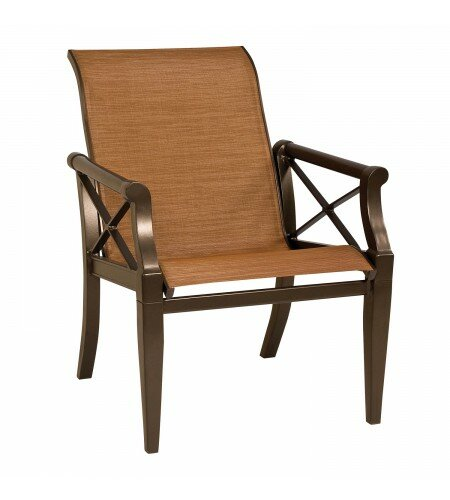 Andover Sling Patio Dining Chair by Woodard Woodard