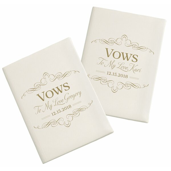 Satin Vows Book (Set of 2) by Lillian Rose