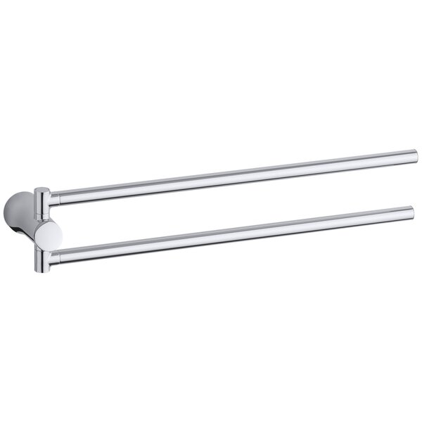 Toobi Double 18 Wall Mounted Towel Bar by Kohler