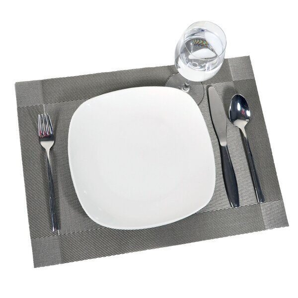 Adamantine Frame Placemat (Set of 12) by Bayou Breeze