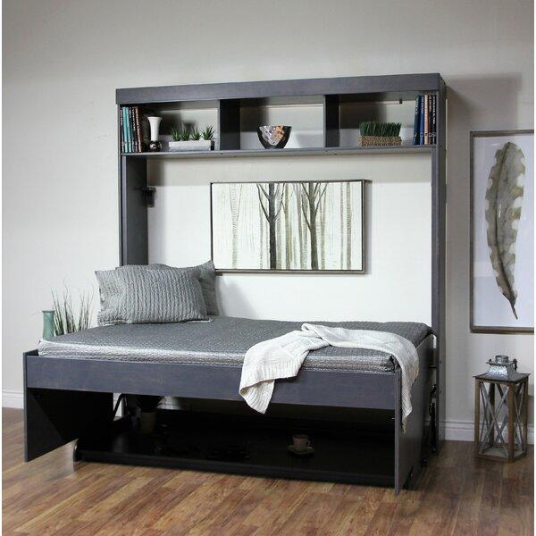 Oberle Murphy Desk Bed by Red Barrel Studio