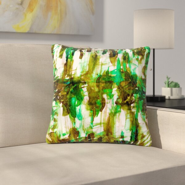 Ebi Emporium Noise Outdoor Throw Pillow by East Urban Home