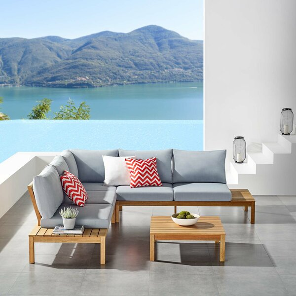 Neneh 3 Pieces Deep Seating Group with Cushions by Brayden Studio