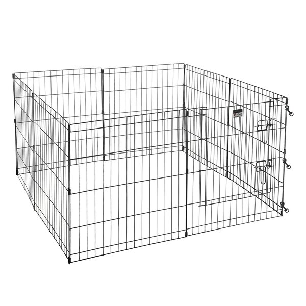 24 Exercise Play Pet Pen by Square Perfect