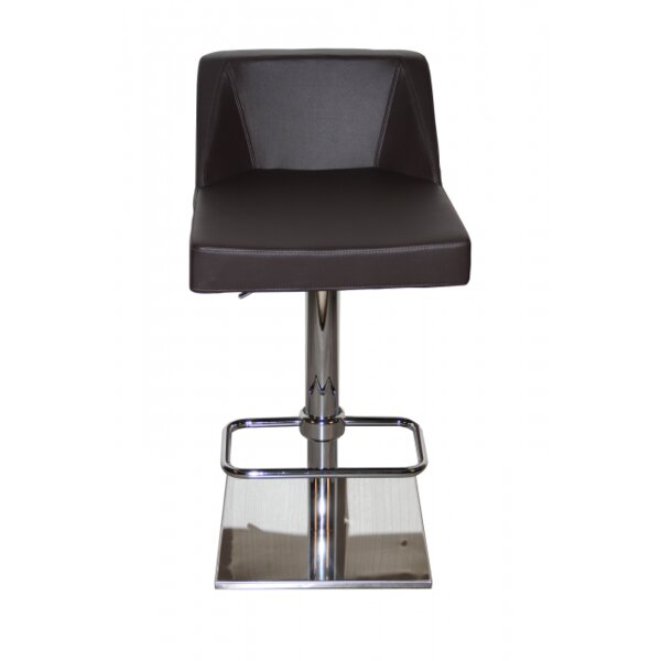 Lenz Adjustable Height Swivel Bar Stool by Oak Idea Imports Oak Idea Imports