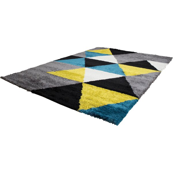 Delgadillo Triangles Area Rug by Brayden Studio