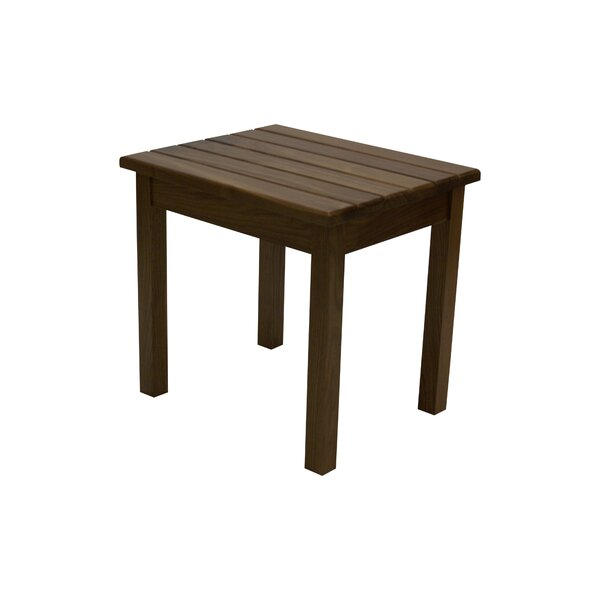 Steward Walnut End Table by Millwood Pines