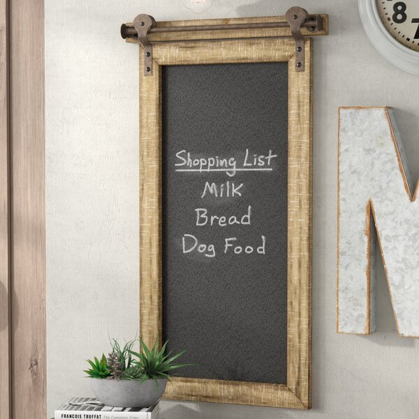 Wall Mounted Chalkboard by Williston Forge