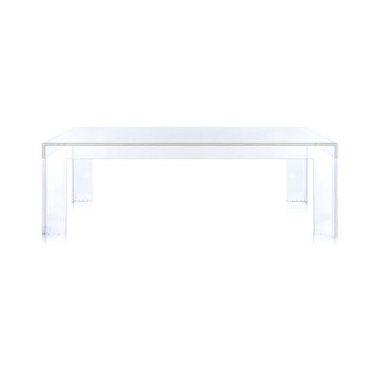 Kartell Ghost Plastic/Acrylic Side Table By Kartell