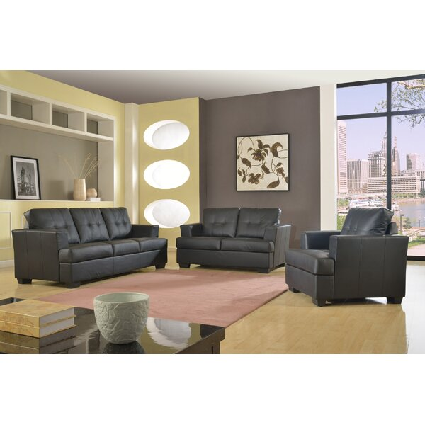 Granda 3 Piece Living Room Set by Star Home Living Corp
