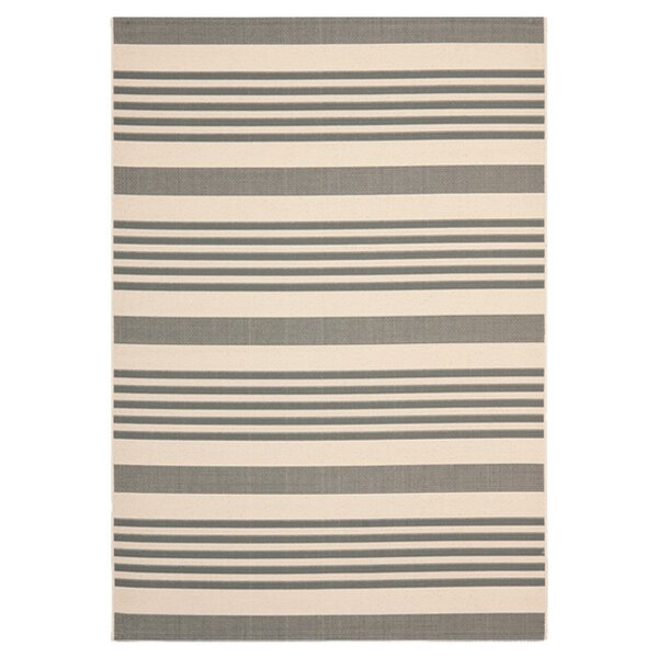 Sophina Gray/Beige Indoor/Outdoor Area Rug by Zipcode Design