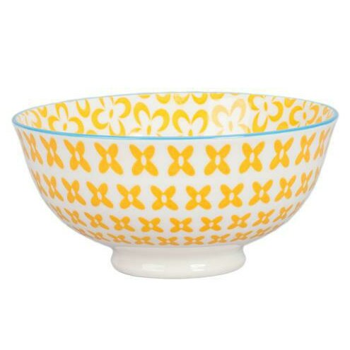 Ooh La La 13 oz. Peony Bowl (Set of 4) by BIA Cordon Bleu