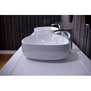 Online Reviews Metamorfosi™ Ceramic U-Shaped Vessel Bathroom Sink By Aquatica