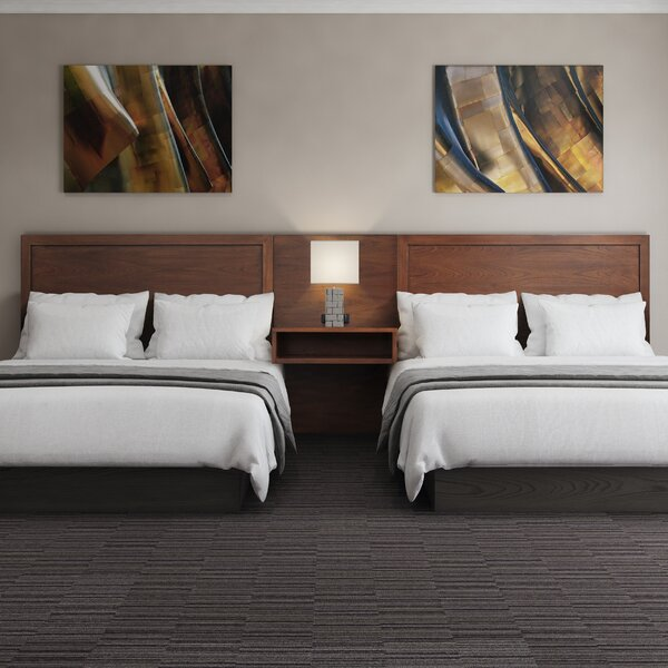 Berjen Wood Double Queen Panel Headboard by Samuel Lawrence Hospitality