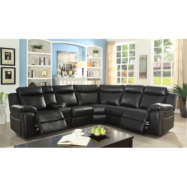 Best #1 Lindisfarne Reclining Sectional By Winston Porter Amazing