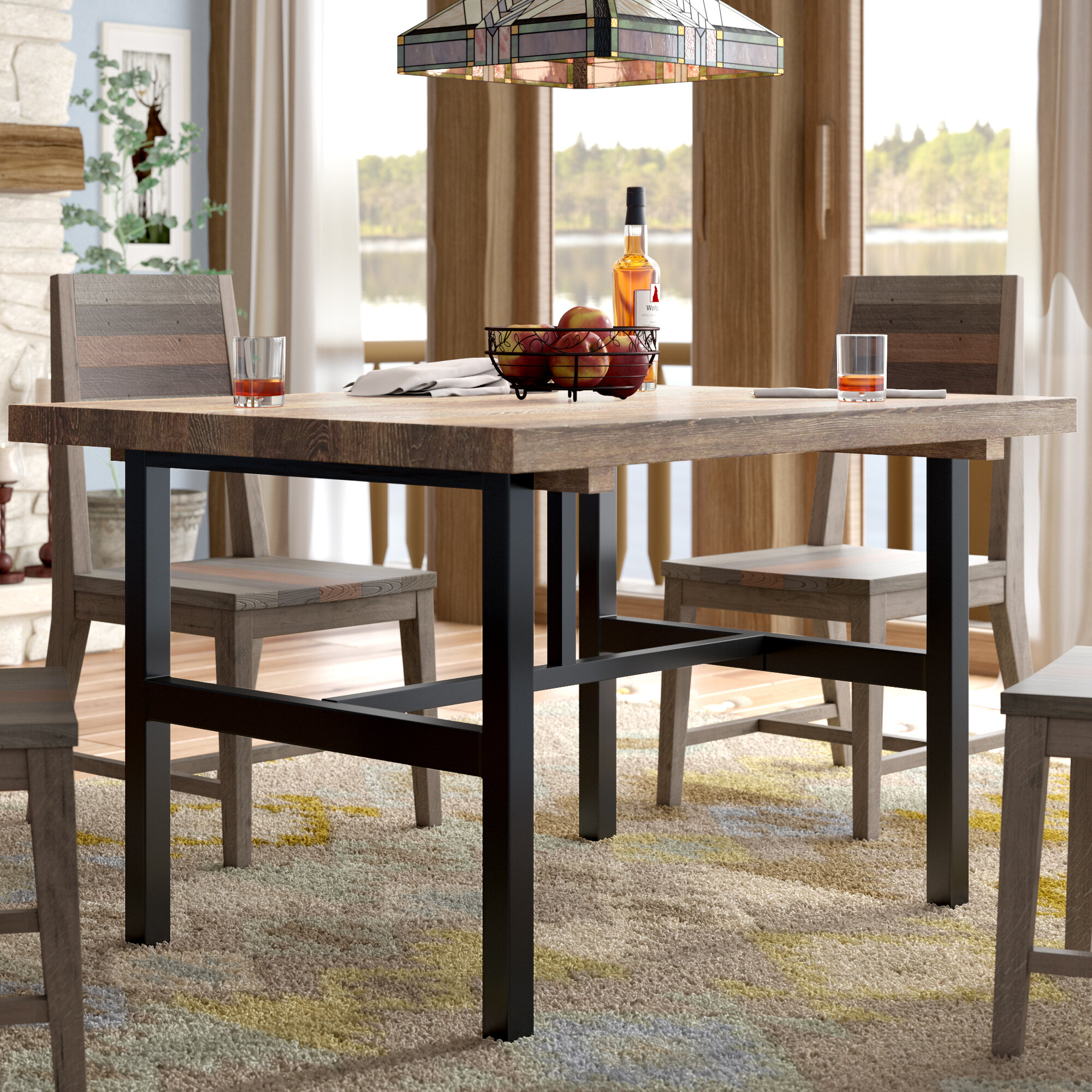 48 Inches Rectangular Kitchen Dining Tables You Ll Love In 2021 Wayfair