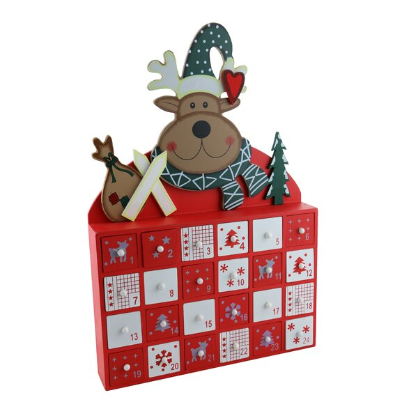 Moose Advent Calendar Countdown to Christmas by The Holiday Aisle