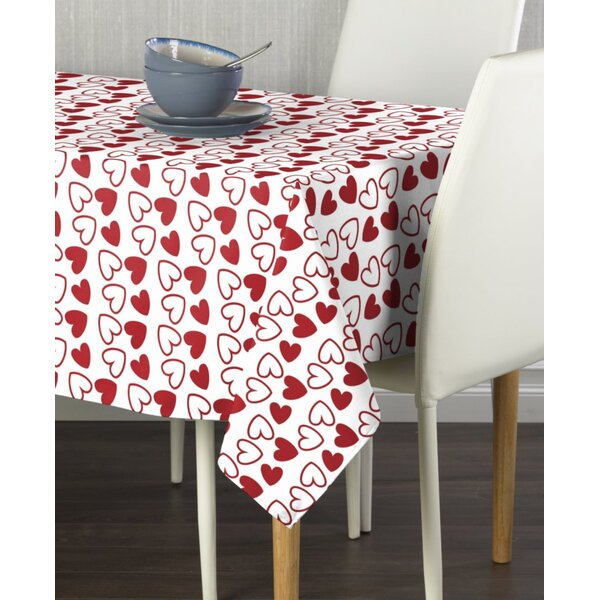 Eudy Tangled Hearts Table Runner by The Holiday Aisle