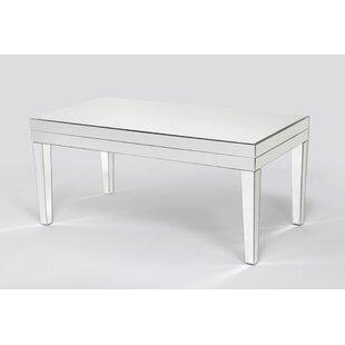 Menke Beveled Mirror Coffee Table