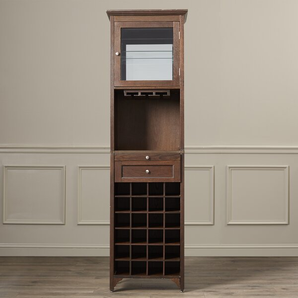 McCar 24 Bottle Floor Wine Cabinet by Darby Home Co Darby Home Co