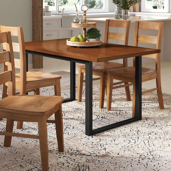 Shander Dining Table by Gracie Oaks
