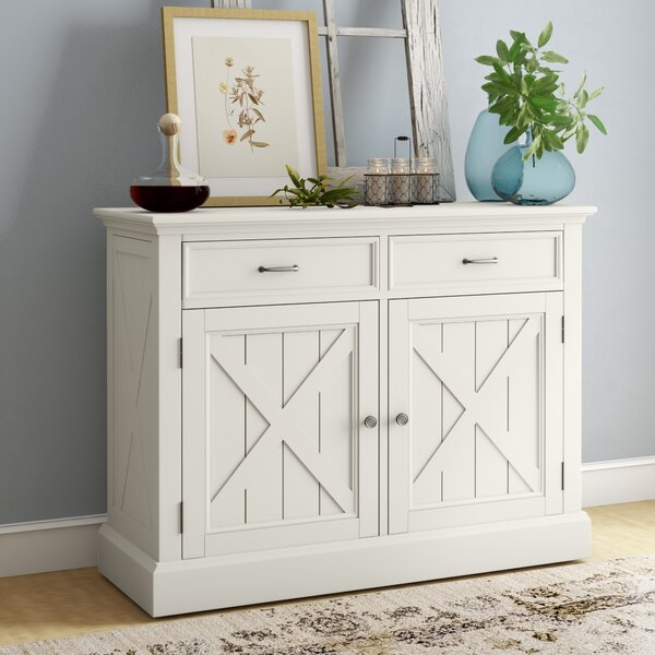 Moravia 47-inch Wide 2 Drawer Server By Laurel Foundry Modern Farmhouse