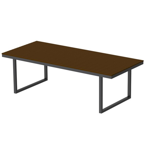 Alissa Plastic/Resin Dining Table by Longshore Tides