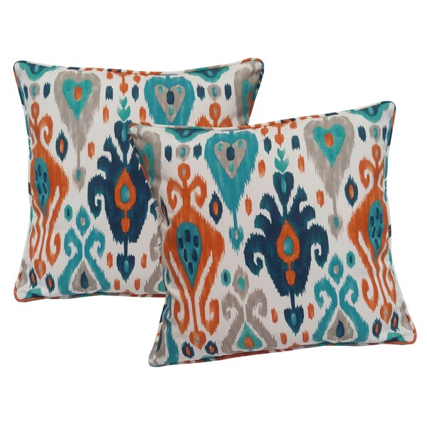 Croft Indoor/Outdoor Throw Pillow (Set of 2) by Wrought Studio