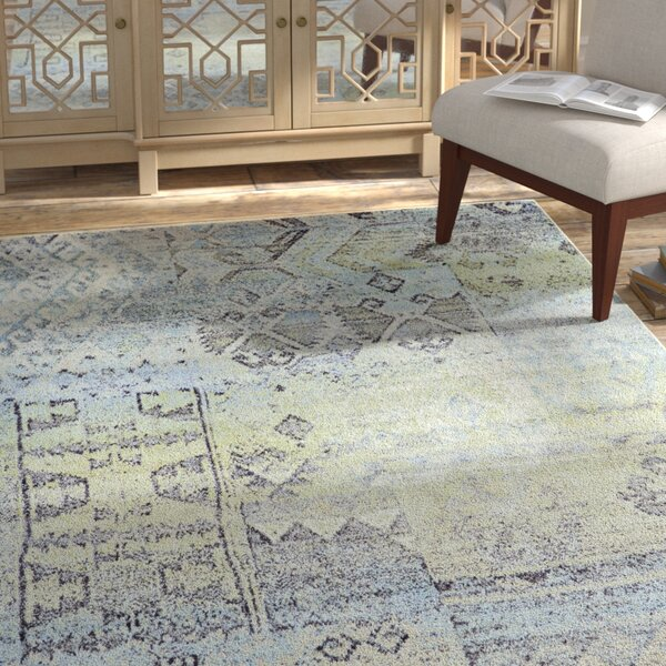 Mint/Taupe Area Rug by Bungalow Rose