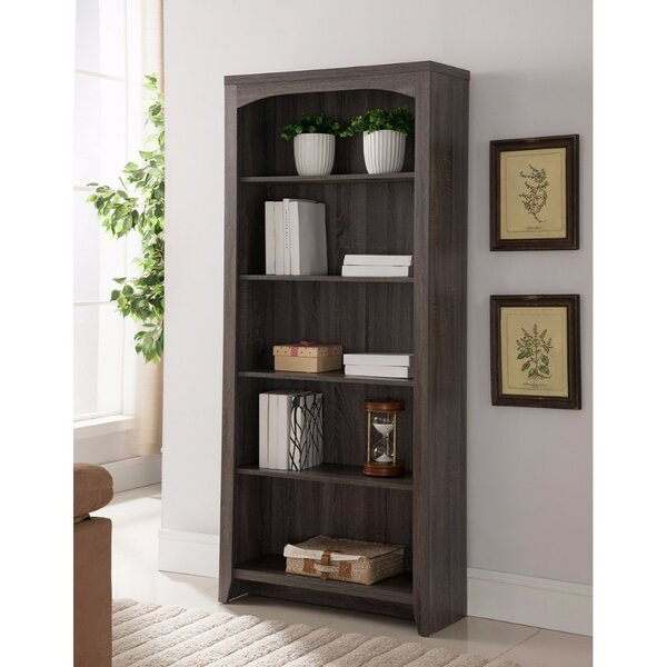 Burton Designed 5-Tier Standard Bookcase by Foundry Select| @ $189.99