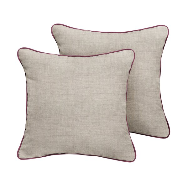 Curtice Sunbrella Cast Outdoor Throw Pillow (Set of 2) by Red Barrel Studio
