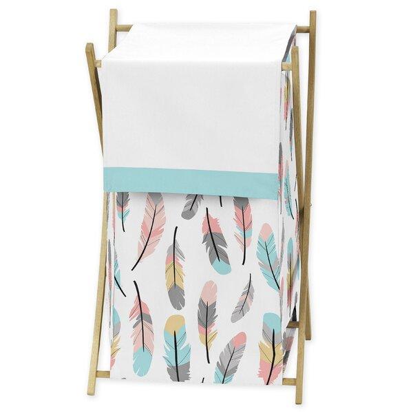 Feather Laundry Hamper by Sweet Jojo Designs