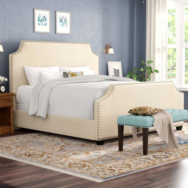 Bulpitt Upholstered Standard Bed by Alcott Hill