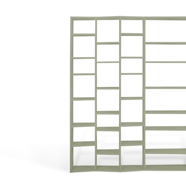 Napolitano Geometric Bookcase by Brayden Studio