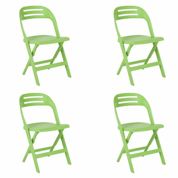 Billy Metal Folding Chair (Set of 4) by Safavieh