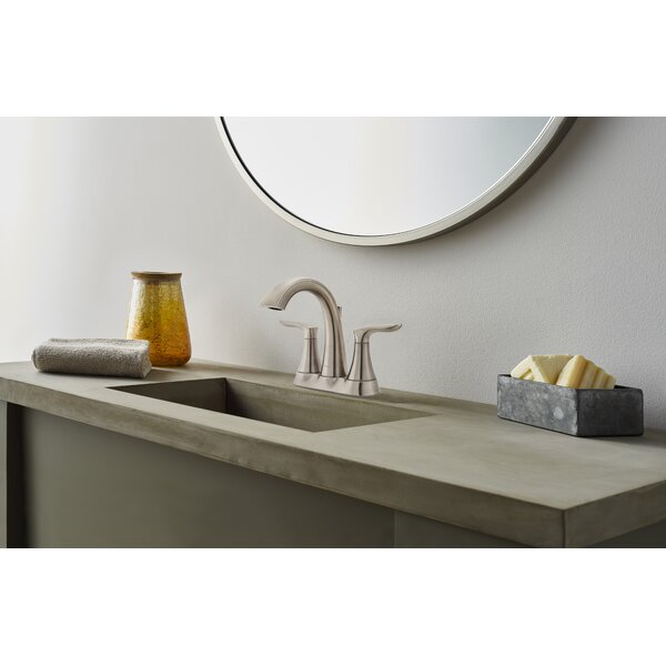 Weller Centerset Bathroom Faucet with Drain Assembly