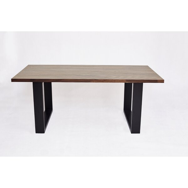 Midhurst Solid Wood Dining Table by Gracie Oaks